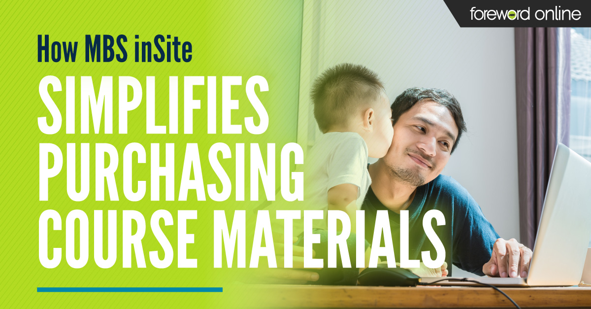 How MBS inSite Simplifies Purchasing Course Materials