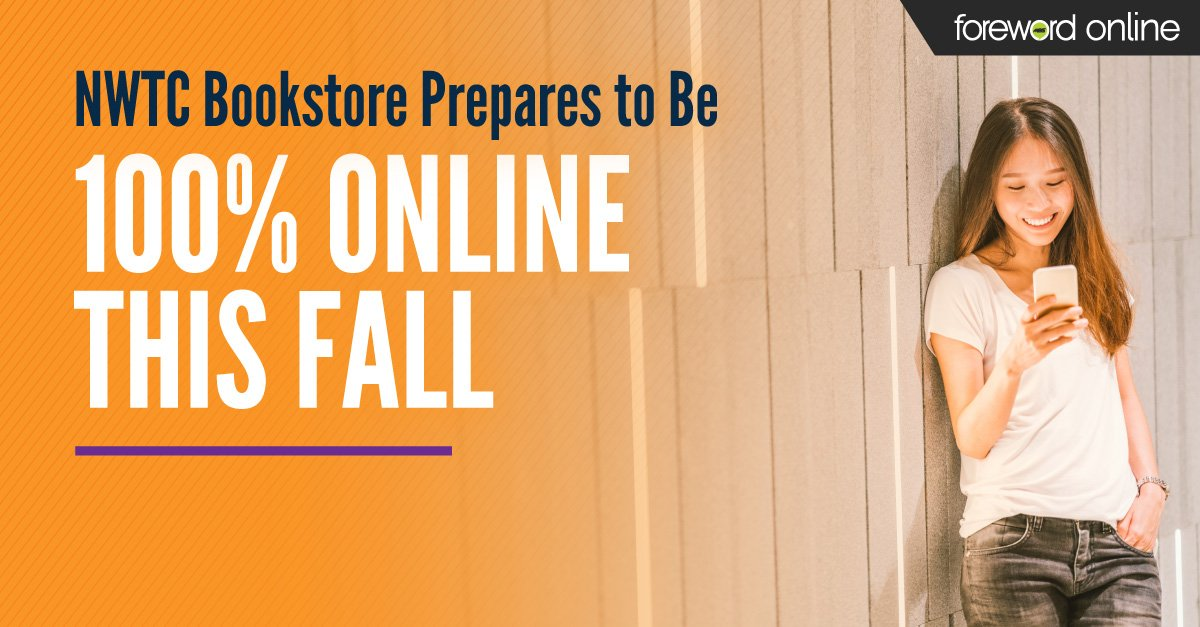 NWTC Bookstore Prepares to Be 100% Online This Fall