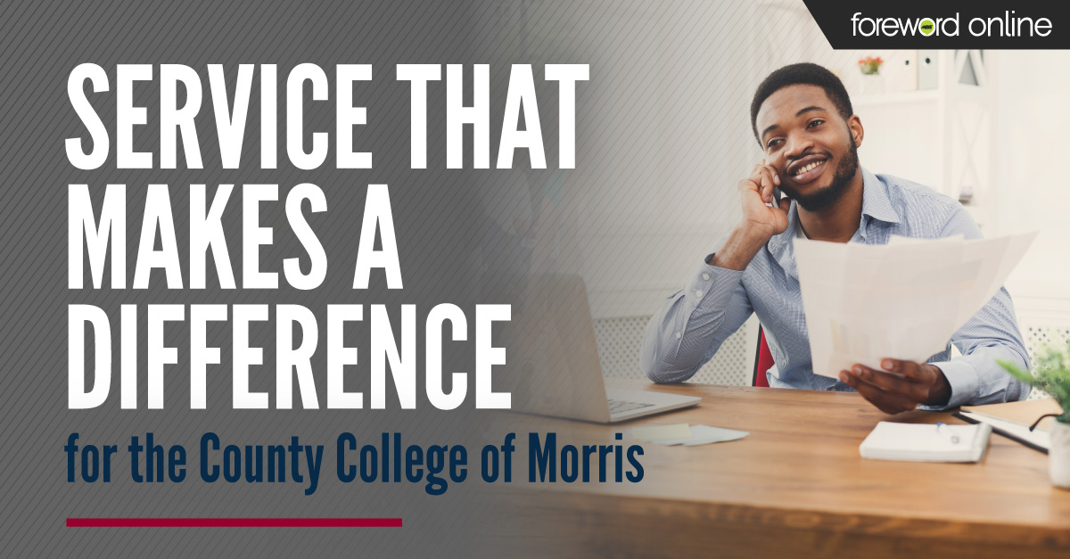 Service That Makes a Difference for the County College of Morris