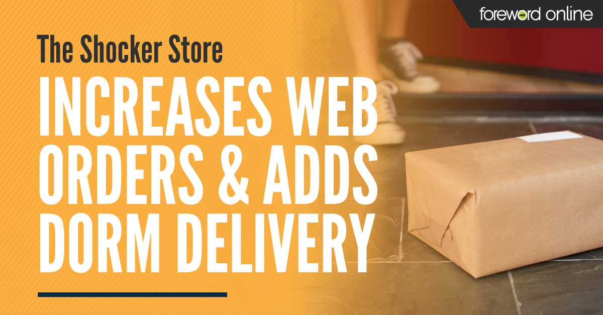 The Shocker Store Increases Web Orders and Adds Dorm Delivery