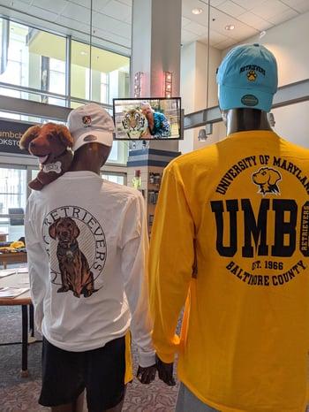 UMBC mannequins