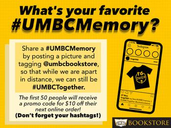 UMBC social media post