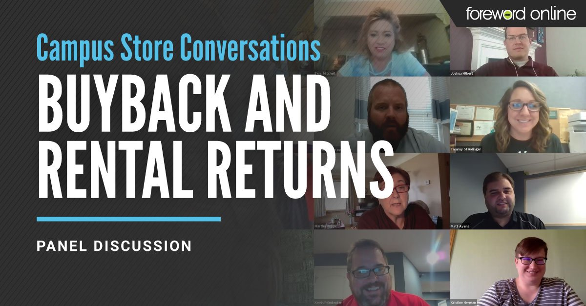 Campus Store Conversations Buyback and Rental Returns Panel Discussion