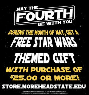 Morehead State University Store — May the Fourth Be With You