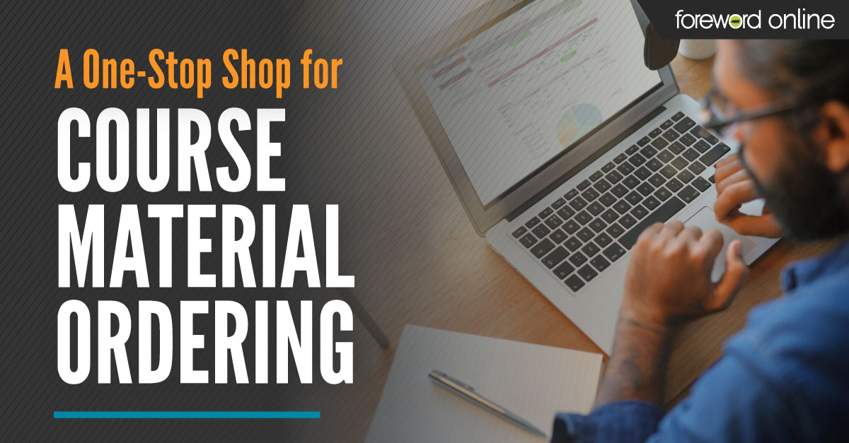 A one-stop shop for course materials ordering