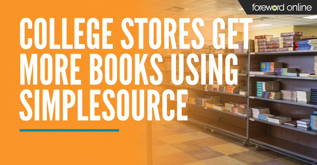 College Stores Get More Books Using SimpleSource
