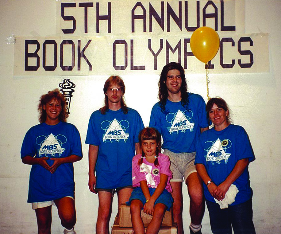 Not everyone medaled in the MBS Book Olympics, but they ALL medaled in style.
