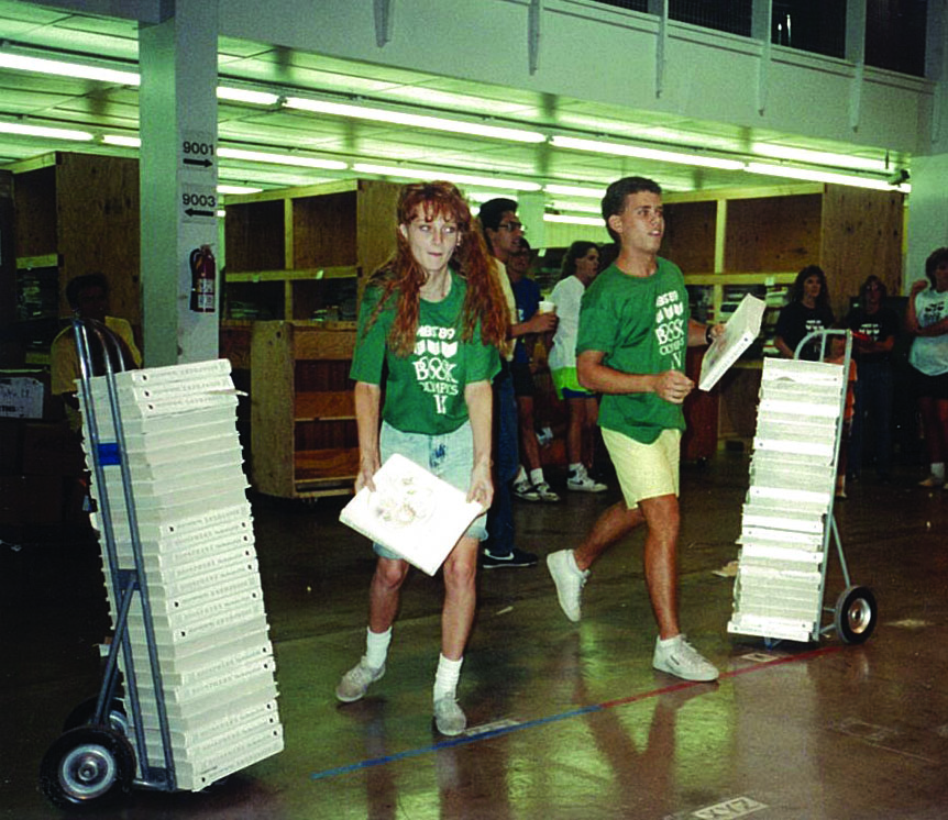 The MBS Book Olympics, circa 1990