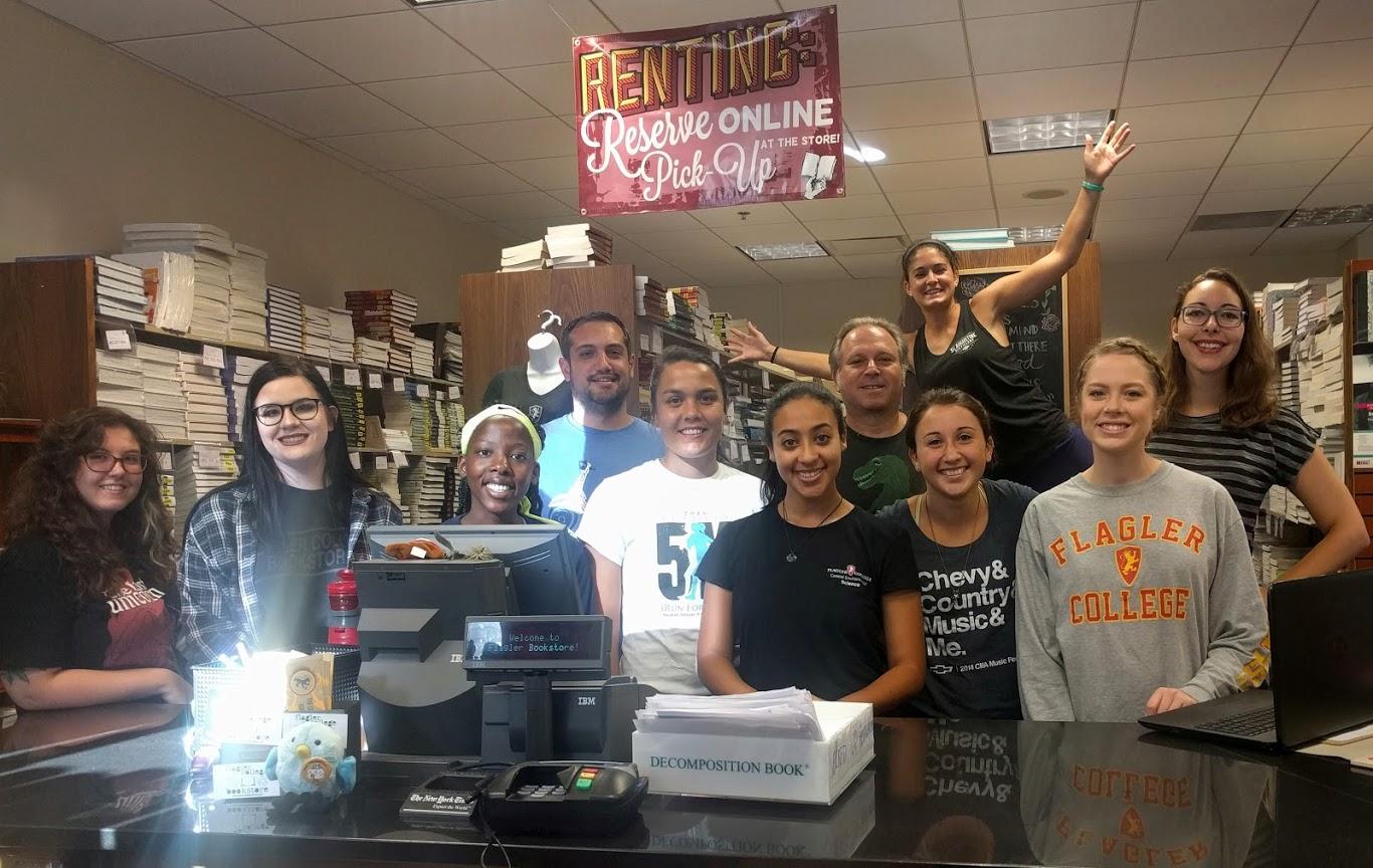 Flagler College Bookstore's staff