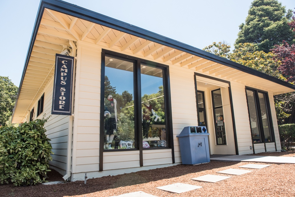 Menlo College, after its redesign. Menlo College marketing students helped develop the store's new look. Photo credit: Andrey Poliakov, Menlo College.