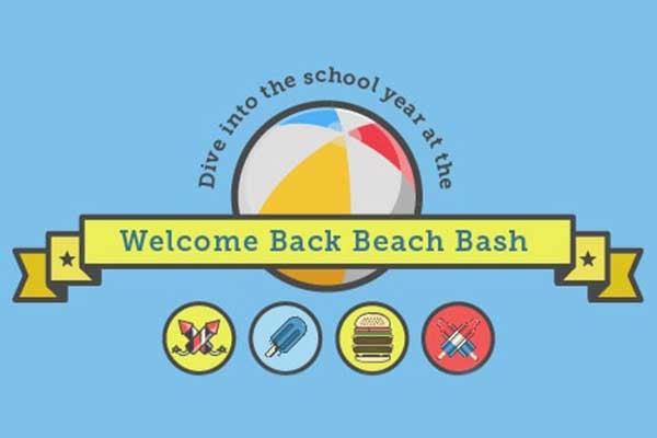 Welcome Back Beach Bash