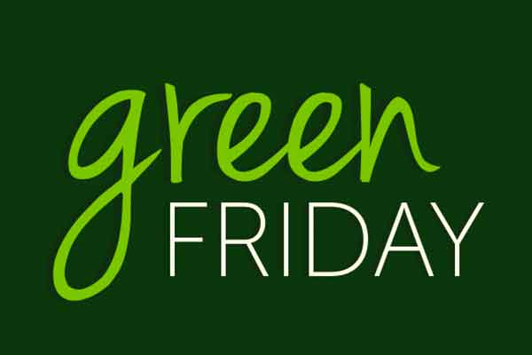 Turn Black Friday into Green Friday to Support Charities