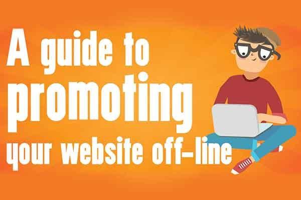 Promote Your Website Off-line