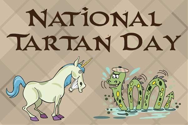 National Tartan Day Scavenger Hunt and Flash Sale