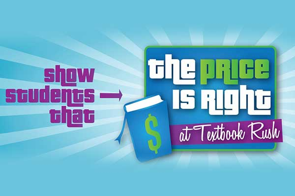 The Price is Right at Textbook Rush