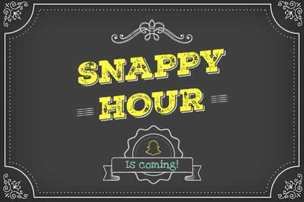 Engaging Students with 'Snappy Hour'