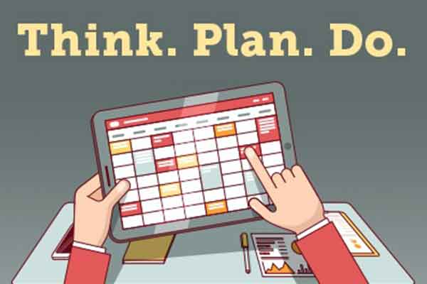 Think, Plan, Do with a Year's-Worth of Marketing Plans