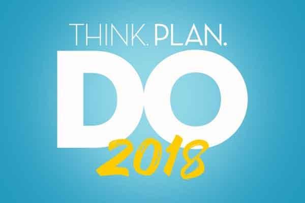 Think, Plan, Do: 2018 Marketing Plan