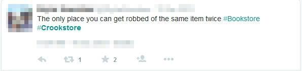 Twitter example #2