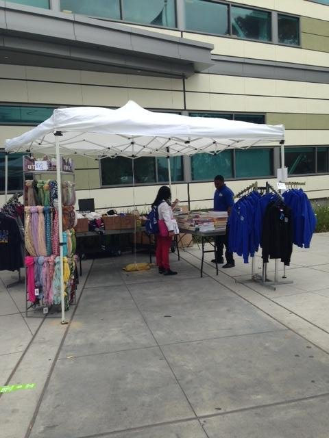 The theme was all things green for the Wildcat Bookstore at West L.A. College on Earth Day this year.