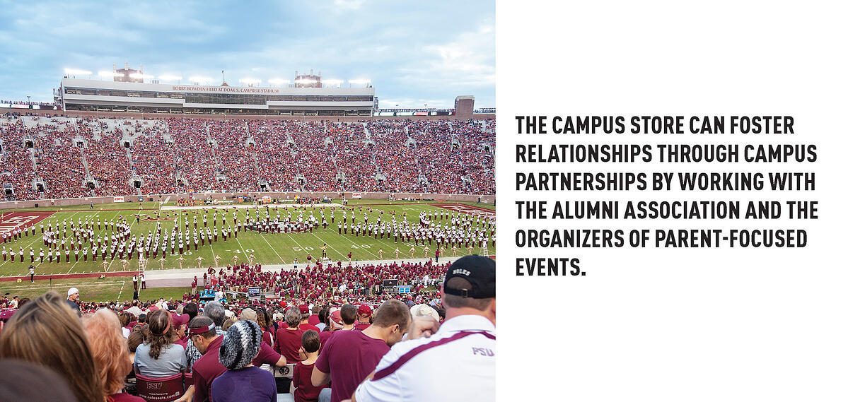 College stores need on-campus partnerships