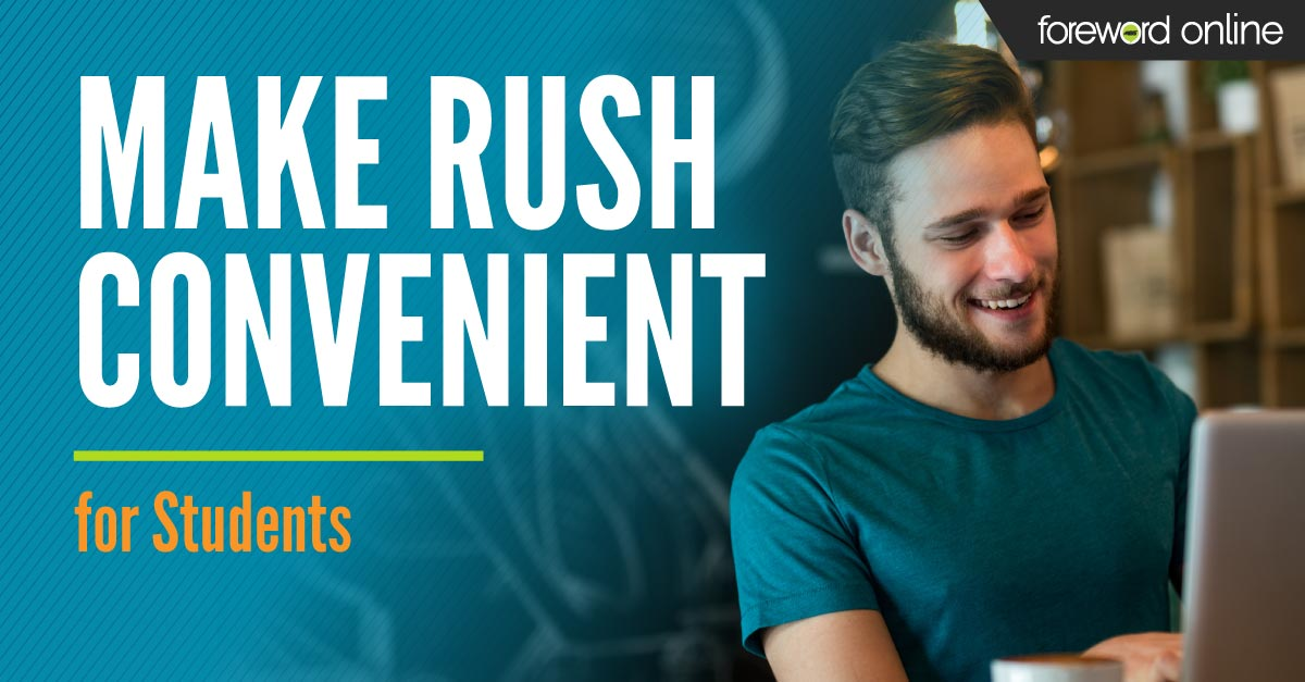 Make Rush Convenient for College Students