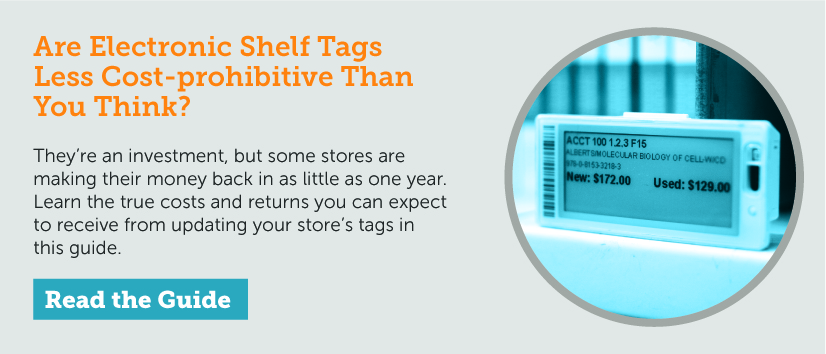 FO > Are Electronic Shelf Tags Less Cost-prohibitive Than You Think?