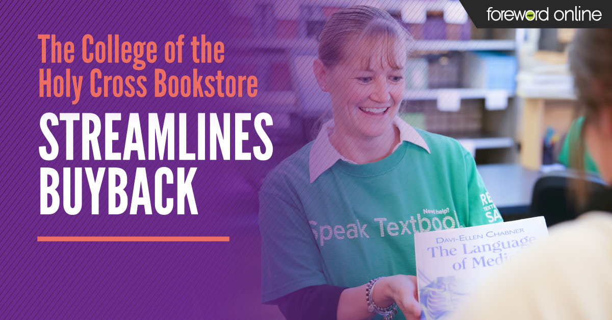The College of the Holy Cross Bookstore Streamlines Buyback
