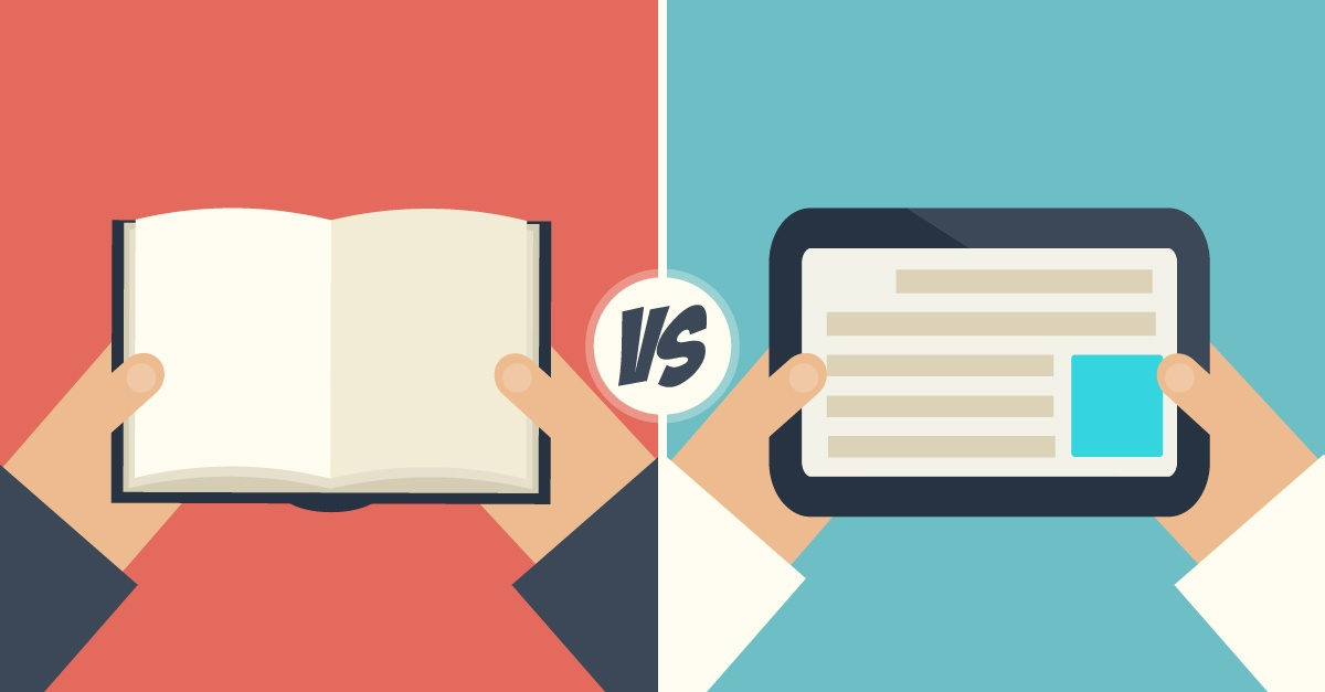 Print Vs. Digital Course Materials