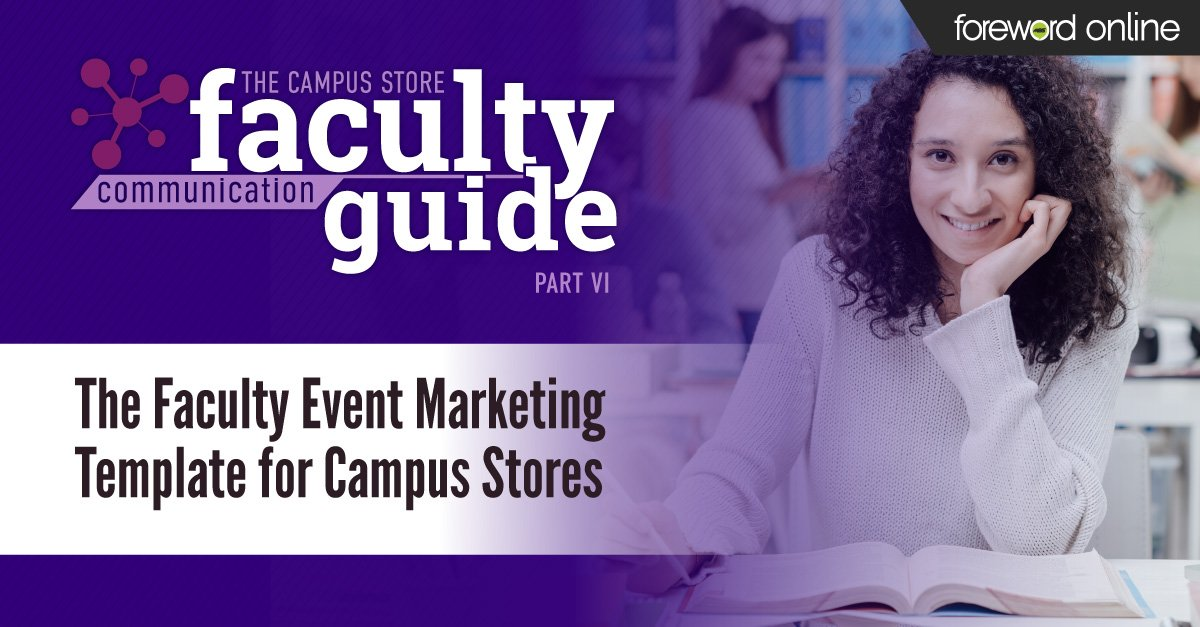 The Faculty Event Marketing Template for Campus Stores