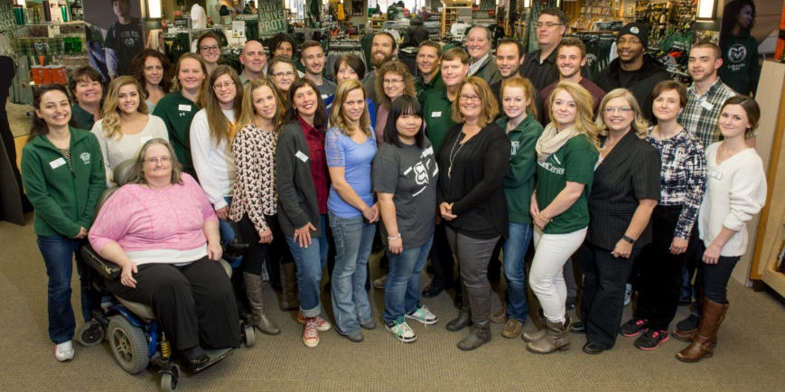 Colorado State University Bookstore; 2017 Collegiate Retailer of the Year