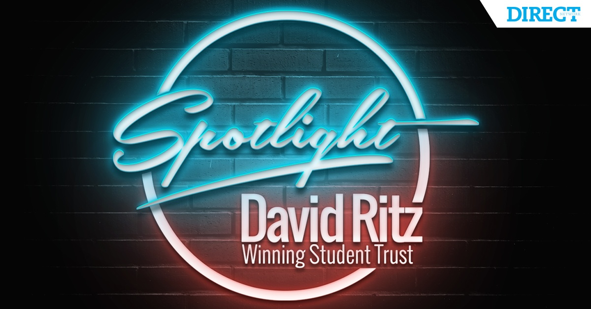 Spotlight: David Ritz — Winning Student Trust