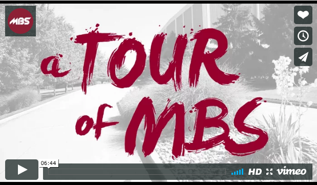 Take a Tour of MBS [Video]