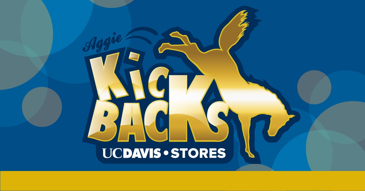 UC Davis Stores: Students' Saving With Aggie Kickbacks