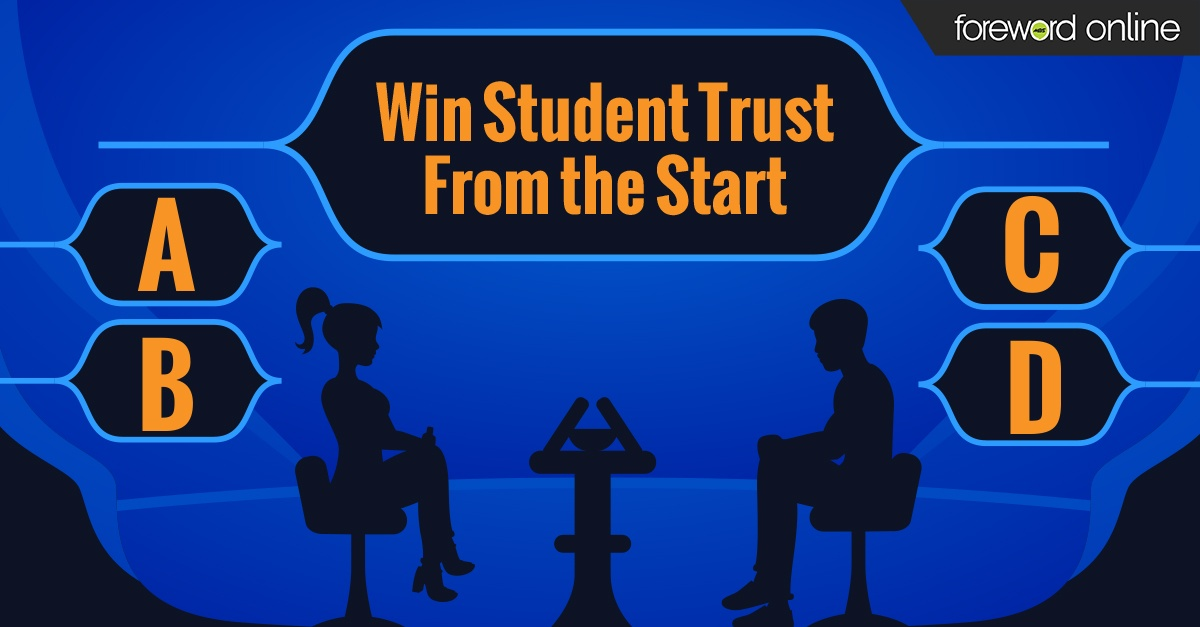 Win Student Trust From the Start