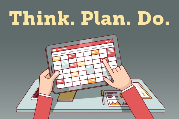 Think, Plan, Do: June Monthly Marketing Plan