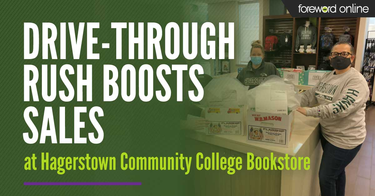 Drive-through Rush Boosts Sales at Hagerstown Community College Bookstore