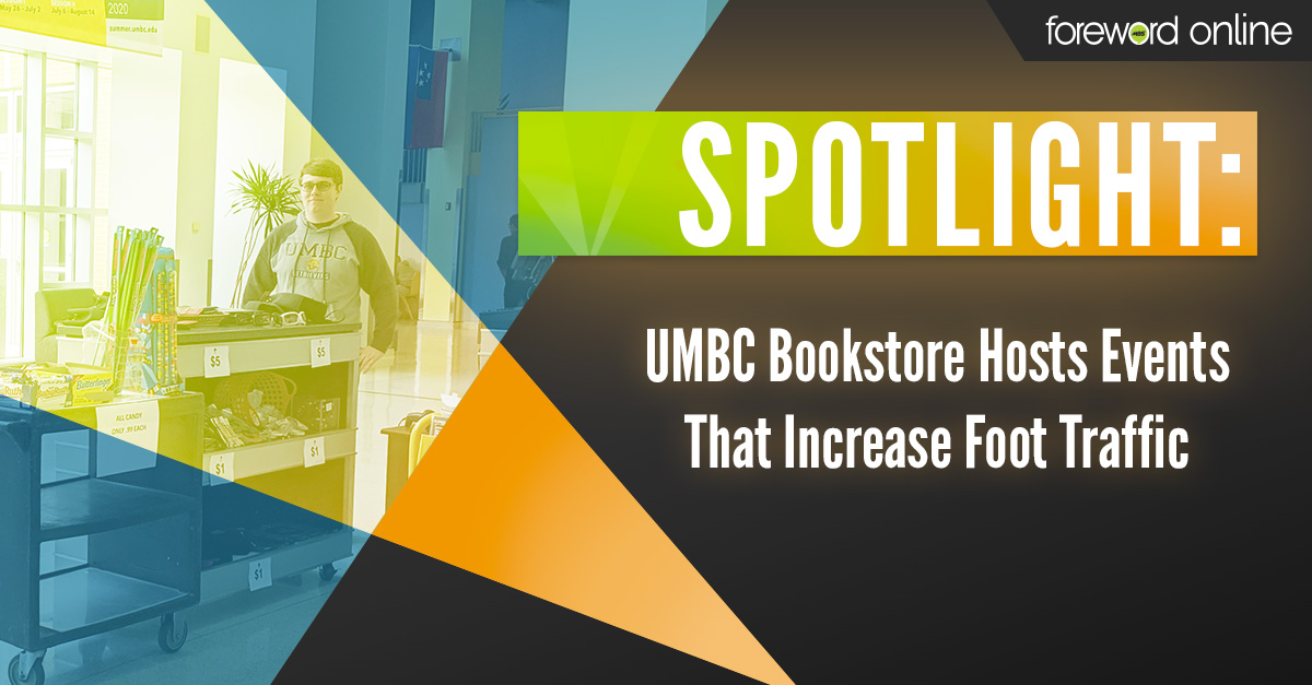 Spotlight: UMBC Bookstore Hosts Events That Increase Foot Traffic