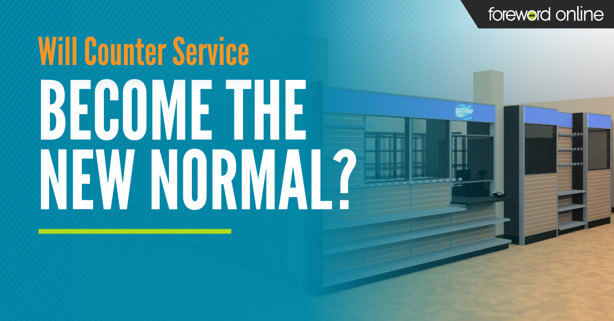 Will Counter Service Become the New Normal?