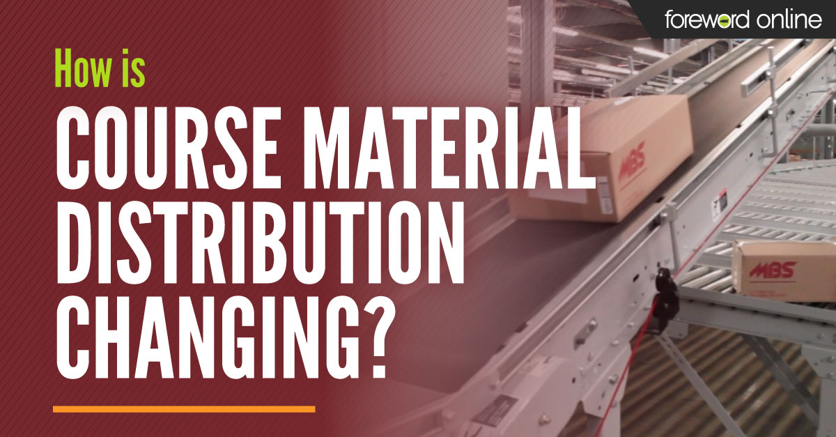 How Is Course Material Distribution Changing?