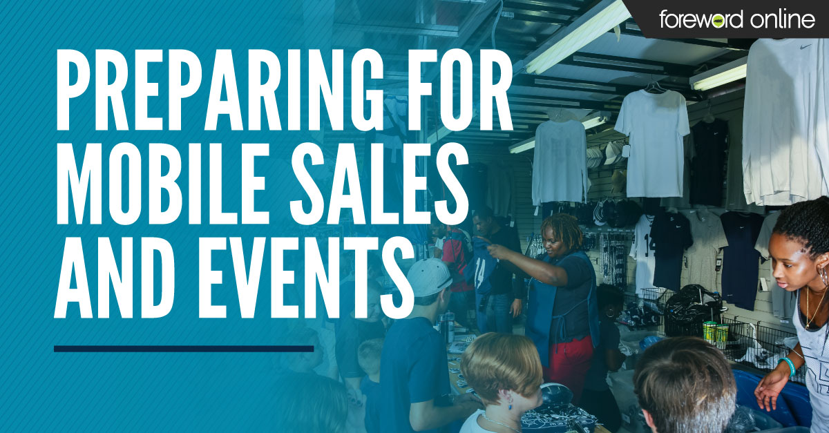 Preparing for Mobile Sales and Events