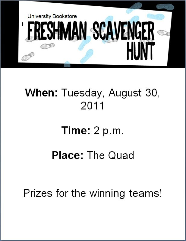 Download: Scavenger Hunt Flyer