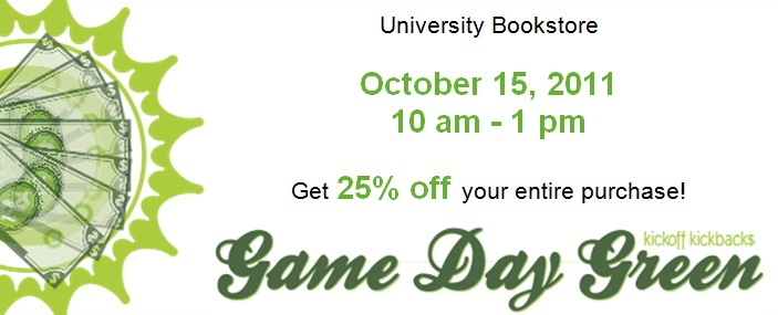 Download: Gameday Green Coupon