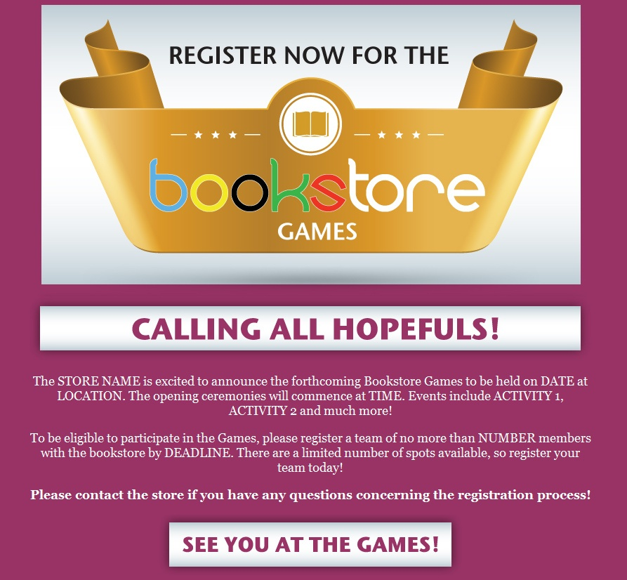 "Download: ""Bookstore Games"" Email"