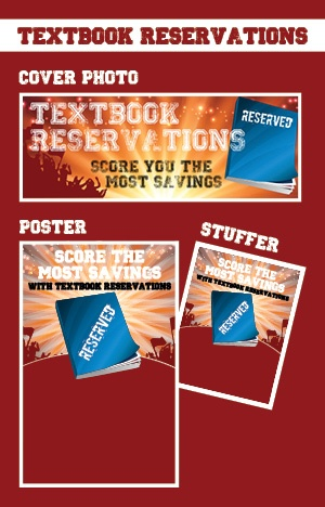 Download: 'Score the Most Savings' textbook reservation kit