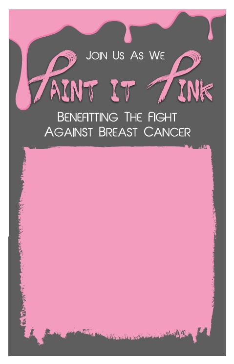 "Download: ""Paint it Pink"" Poster"