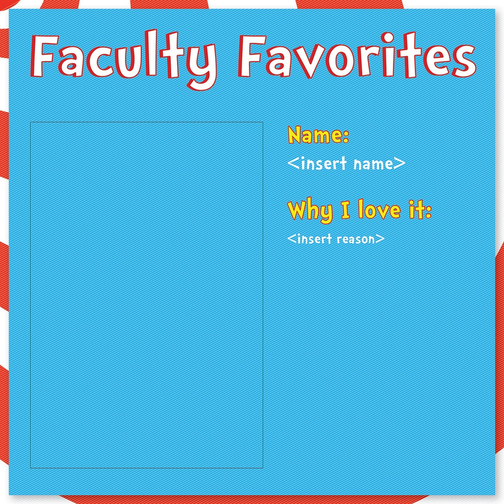Download: Faculty Favorites Template