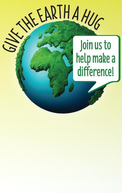 Download: Give the Earth a Hug Poster