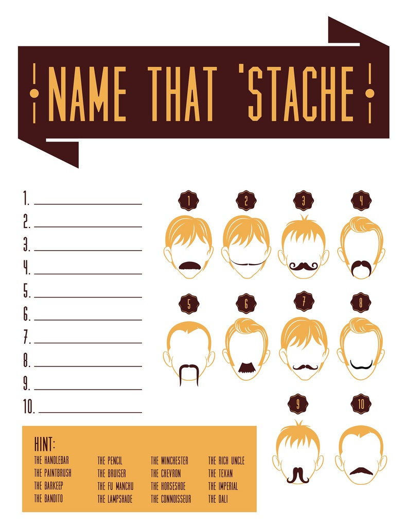 Download: Name That 'Stache Game