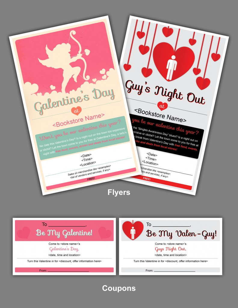 Download: all Galentine's Day/Valenguy marketing materials